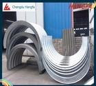 galvanized corrugated metal culvert pipe