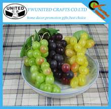 Decorativi personalizzati uva artificiale, di plastica grappolo