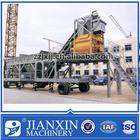 YHZS50 Mobile beton Concrete batch Plant capacity 50m3/h for sale