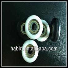 nylon plastic pulley wheels for sliding window & door pulley wheels for sliding door