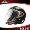professional helmet manufacturer ECE DOT open face helmet