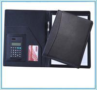 executive leather file folder bag