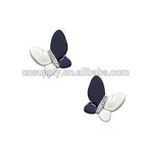 Vogue Butterfly Design Seashell Earring