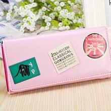 B6020 New Korean woman wallet long range models two-fold wallet clutch purses wholesale