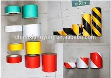 PVC colorful High intensity glass bead warning tape,reflective sheet