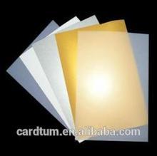 PVC transparent laminated inkjet printing sheet for ID card