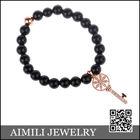 2014 New Beads Bracelet With Copper CZ Diamond Key CZB18