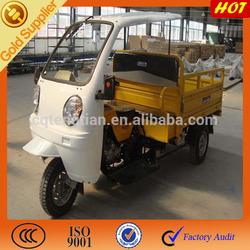 2 passenger three wheel motorcycle cargo box + 1 driver