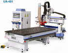 UA-481 CNC router machine for furniture making including door,cabinet.