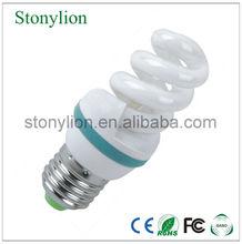 3W 5W 9mm E27 B22 E14 Full Spiral energy saver