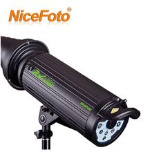 NiceFoto strobe studio flash light