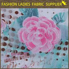 lace print fabric for communion dresses wedding dress fabric printed silk floral dress fabric