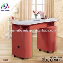 Salon beauty manicure nail table/nail technician tables/manicure table nail salon furniture KM-HN6869