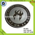 de plata china espíritu artesanal de la moneda