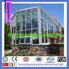 elegant villa sunroom/conservatories custom made winter garden glass room