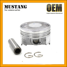 Aluminum Alloy Motorcycle Piston With Good Price for 4 Strokes Motorcyle