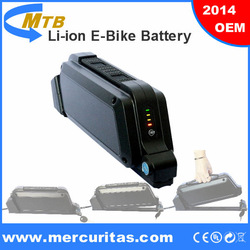 2014NEW! Panasonic cell rechargeable battery pack 48V 1000W for electric bike