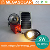 Portable generator for home light solar power system with 120v-240v dc to ac power inverter