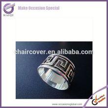 20320restaurant tassel acrylic lucite napkin ring