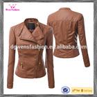 2014 New fashion Faux Leather Jacket /slim fit fashion leather jacket