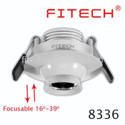 5W led downlight eyeball white black silver cover for LED furniture lighting