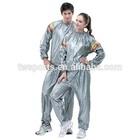 Tengwei PVC Sauna Suit, Silver, One Size L fits all