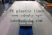 Chute bunker truck bed liner / carvão saco do lixo / funil forro