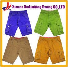 wholesale mens cargo pants leisure men's plaid pants