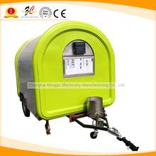 Stainless steel gas mobile food vending transport cart, donut food van