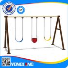 Outdoor eco-friendly baby swing set