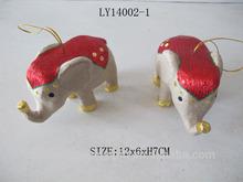 hot sales festivals decorations kraft paper diy elephant ornaments