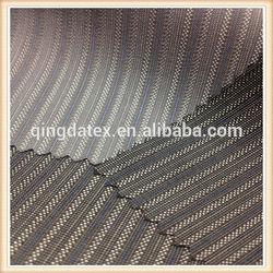 2014 fashion design navy blue and white stripe fabric 235