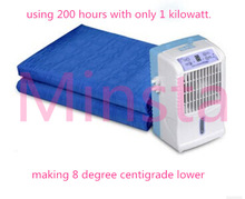 You won't feel hot this summer. 2014 hot sale new invention 6W electric water summer cool mattress
