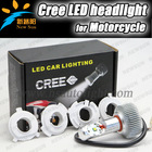 20W C REE chip 1900LM motorcycle headlight LED lamp, the brightest c ree led motorcycle headlight H4,H6,H7, Ba20D LED