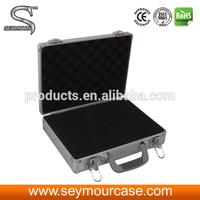 Silver Aluminum Briefcase Tool Box