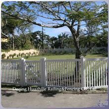 cheap PVC garden fence plastic