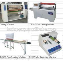 DP-1600 bopp adhesive tape jumbo roll slitting rewinder machine packing