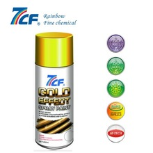 7CF metallic gold spray paint