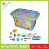 JTH80036 cooking set cart toy kitchen set toys for girls