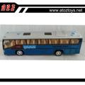 1:48 diecast autobús juguetes con luces y música