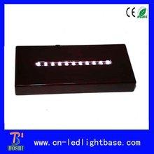 wooden led crystal cake bases for wedding cakes