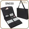 Folding polyester portable organizer bag with laptop pocket