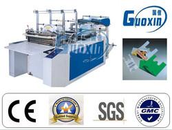 GFQ-1000 plastic bag sealing cutting machine for t shirt bags