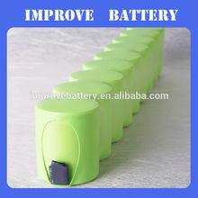 AA 1800MAH power tool battery 12v nimh battery 14.4v 1800mah nimh battery