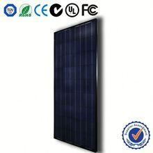 Monocrystalline silicon high power efficiency 250w solar panel flexible