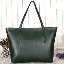 simple style genuine leather handbag wholesale price lady handbag EMG2980