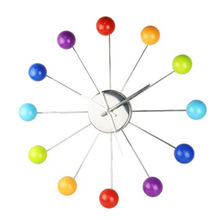 color ball wall clock