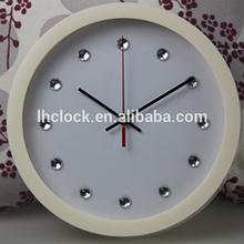 diamond numbers wall clock