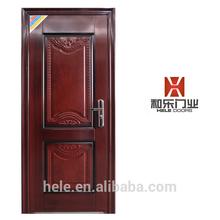 Metal entry steel door for exterior