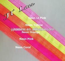 headband elastic,fold over elastic,hair tie elastic, elastic, solid FOE